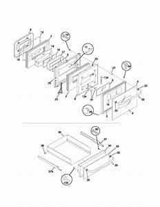 Frigidaire Model Fgb24s5asa Wall Oven  Gas Genuine Parts