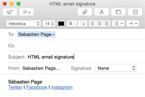iphone email signature how to create an html email signature on iphone or