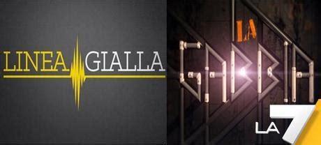 Trasmissione La Gabbia La7 - linea gialla e la gabbia due flop per la7 paperblog