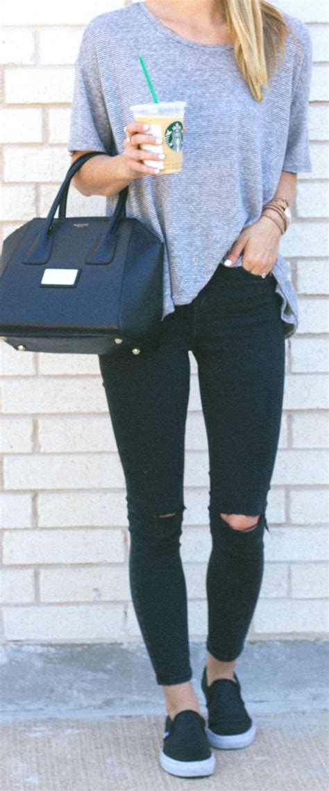 ideas  jean outfits  pinterest casual outfits skinny jean outfits  simple
