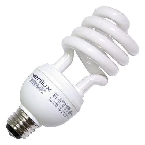 full spectrum light bulbs verilux 05114 cfs3wvlx compact fluorescent daylight full