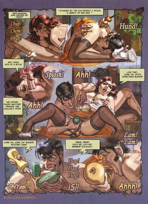 Damp Full Grown Comics With Hot Hotty Taking In Stick At
