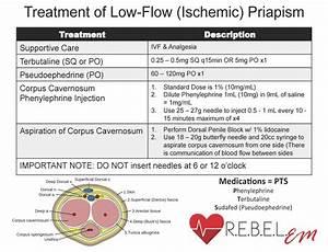 Priapism Phenylephrine Injection