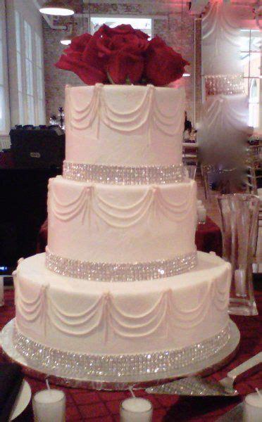 rhinestone wedding cakes ideas  pinterest