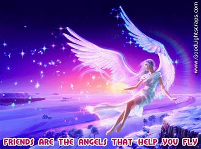 Angel Quotes Angels Friends Fly Help
