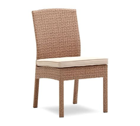 Strathwood Outdoor Furniture Company by Strathwood Griffen All Weather Armless Wicker Dining Chair