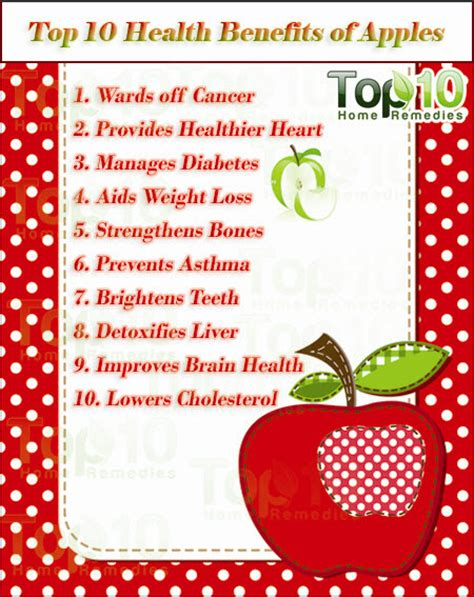 top 10 health remedies for top 10 health benefits of apples top 10 home remedies