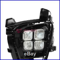 Led Foglights With Wire Harness Switch For Kia Sorento