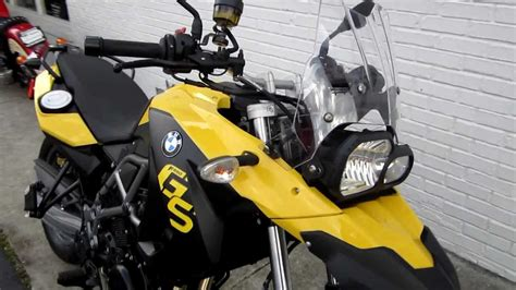 2012 Bmw F650gs Yellow.at Pandora's Motorsports