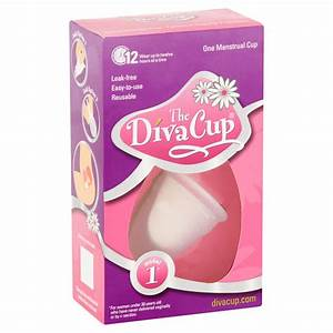 Diva Cup Diva Cup 1 Pre Childbirth  Packaging May Vary