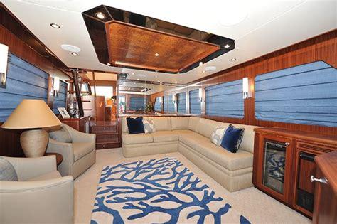 Ocean Alexander 65-main Salon-custom Yacht Interior Design