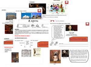 projet d animation cuisine l 39 opéra et