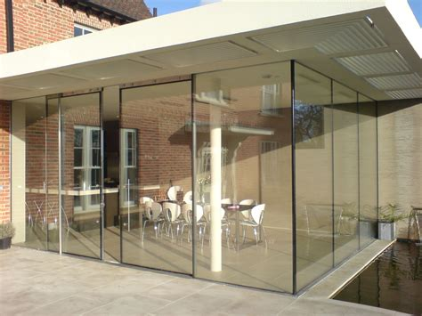 sl20 classic sliding aluminium glass patio doors