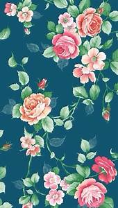 Floral background iPhone 5s Wallpaper Download   iPhone ...