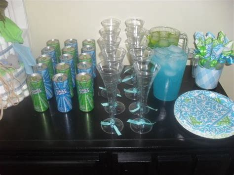 Baby Shower Blue And Green Decorations - turquoise lime green baby shower ideas baby