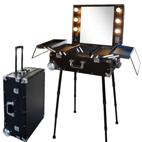valise studio make up trolley table de maquillage