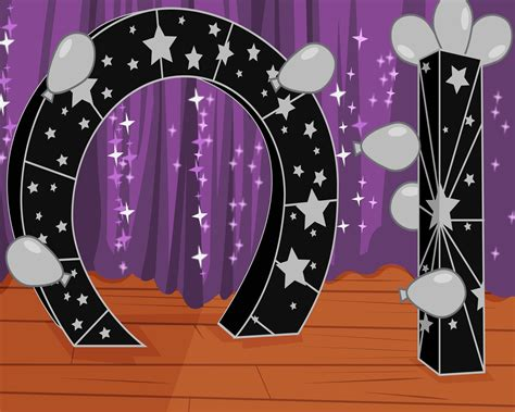 total drama style prom arch background  therscrooge  deviantart