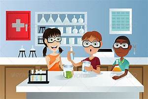 Students In Science Project By Artisticco