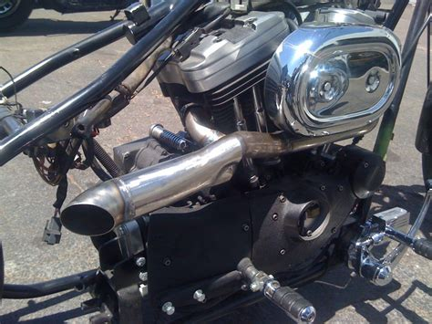 Custom Sportster Exhaust Pipes & Custom Exhaust Pipe Made