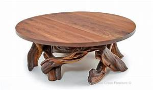log coffee table rustic coffee table barn wood coffee table With round log coffee table