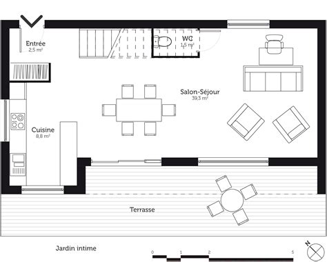 plan maison a etage 3 chambres maison etage 3 chambres plan