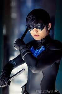 Young Justice Nightwing Cosplay