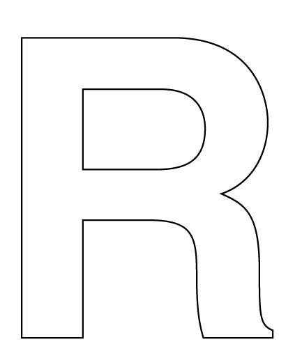 big letters  cut  letter   cut