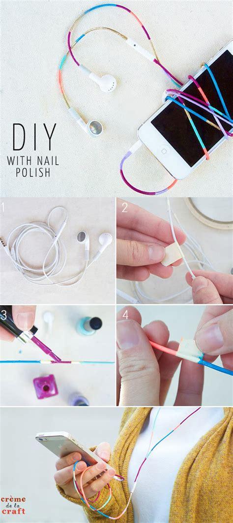 31 Incredibly Cool Diy Crafts Using Nail Polish