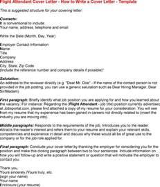 flight attendant cover letters resume cv cover letter
