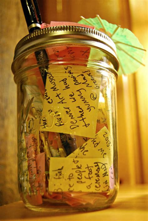 Ee  Mason Ee   Jar Full Of Little Sticky Notes Every One Of Them