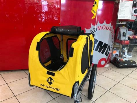 carrello porta cani per bici carrello per cani per bici max 30kg negozio di bici a