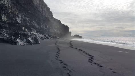 The Black Sand Beaches Of Dyrhólaey Iceland 5312x2988
