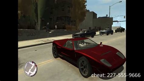 Fastest Car Cheat Gta 4