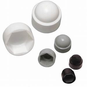 Vis Pour Plastique : cache crous plastique blanc pour vis t te hexagonale 100 pi ces bricozor ~ Nature-et-papiers.com Idées de Décoration