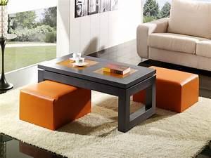 Table Verre Salle A Manger : table salle a manger verre relevable la table basse ~ Melissatoandfro.com Idées de Décoration
