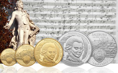 Stylish New Mozart Bullion Coin Debuts For Palau In A