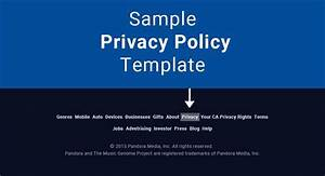sample privacy policy template termsfeed With free privacy policy template australia
