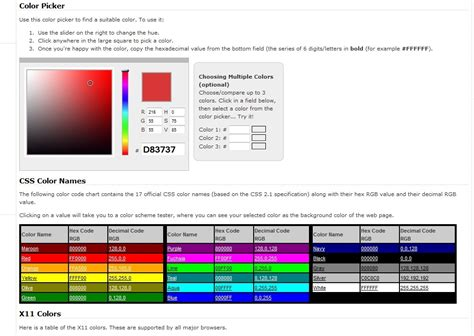 color codes css color css