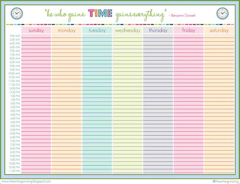 plan daily schedule sample schedule template purchasing technician cover