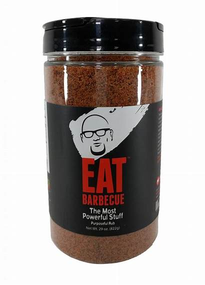 Eat Barbecue Stuff Rub Powerful