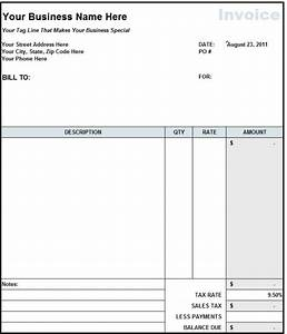 9 contractor invoice templates word excel pdf formats With it contractor invoice template
