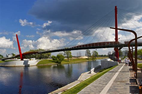 Mītavas tilts Jelgavā - redzet.eu