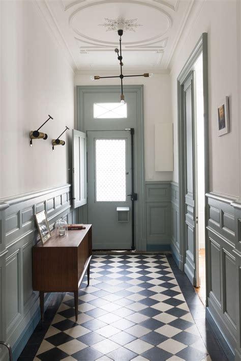 chambre gris perle et blanc déco couloir gris galerie et chambre couloir blanc et gris