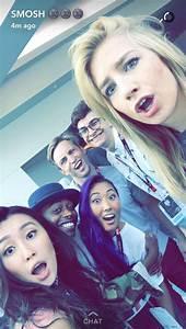 Smosh Squad - L to R - Olivia, Keith, Mari, Shayne, Noah ...