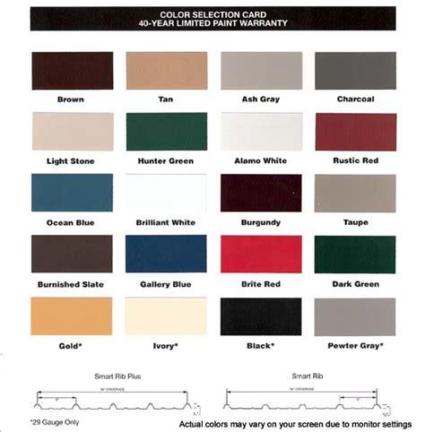 Pole Barn Color Selector by Contruction Offers Pole Barns Buildings Pole Barn