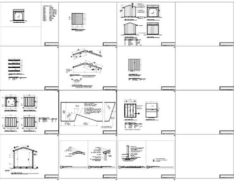 8x8 shed plans materials list 8x8 firewood shed plans wood bin plans icreatables
