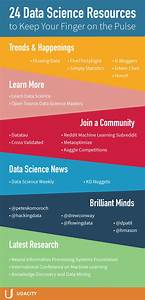 24 Data Science Resources to Keep Your Finger on the Pulse