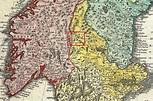 Sami areas in Dalarna County, Sweden. Idre, Särna and Tran ...