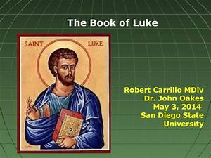 Class On The Book Of Luke