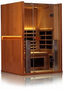 Sanctuary 2-person Infrared Cedar Sauna